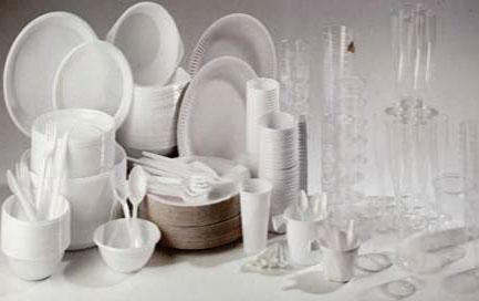 Vaisselle-PLastique